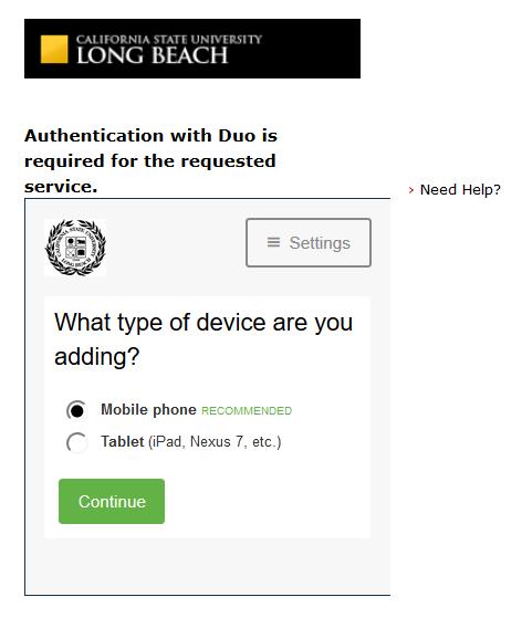 Duo Choose Device