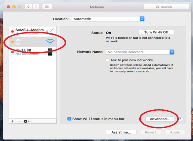 Network Preference Box