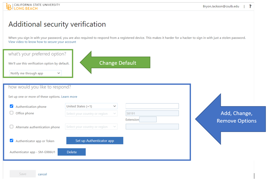 additional security verification dialog box