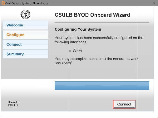 Configuring your system window
