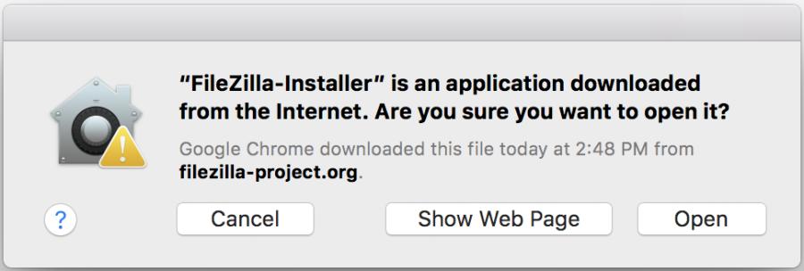 FileZilla Installer