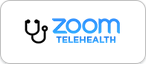 Zoom Telehealth button
