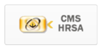 image of single sign on CMS HRSA chiclet/button