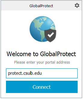 Global Protect connection box