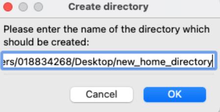 create directory window