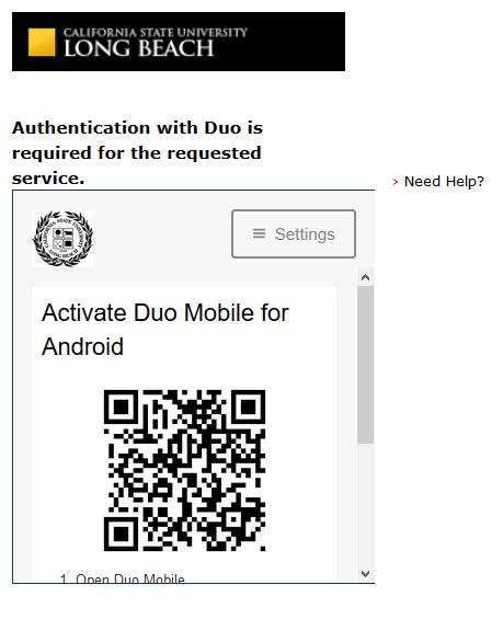 Duo QR Code