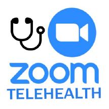 Zoom Telehealth button